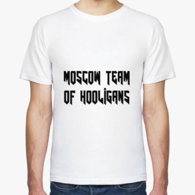 Футболка TEAM OF HOOLIGANS