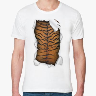 Футболка из органик-хлопка  футболка 'Тигр'
