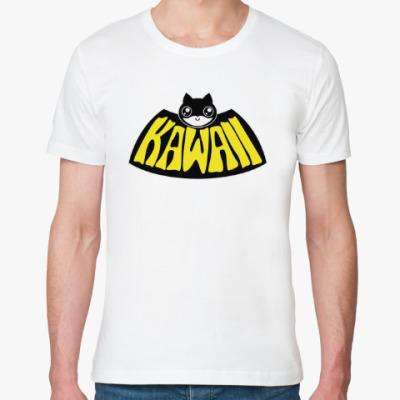Футболка из органик-хлопка Kawaii Batman