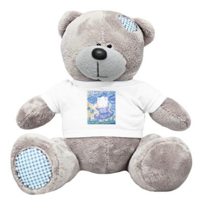 Плюшевый мишка Тедди Девочка и весна