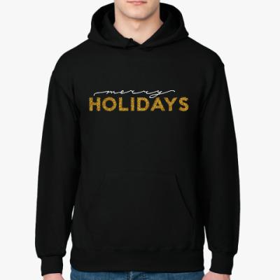 Толстовка худи Merry holidays