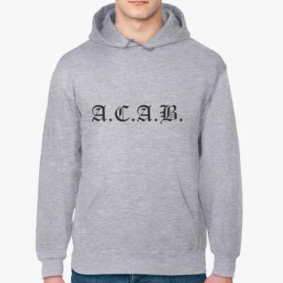 Толстовка худи ACAB