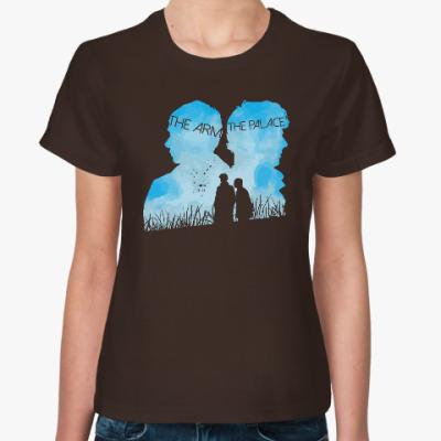 Женская футболка Sherlock Sky