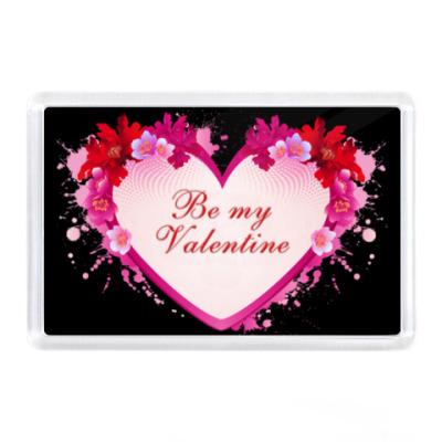 Магнит Be My Valentine