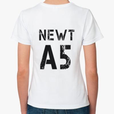Классическая футболка Бегущий в лабиринте- Ньют А5