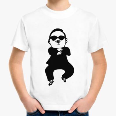 Детская футболка В стиле гангнам (gangnam)