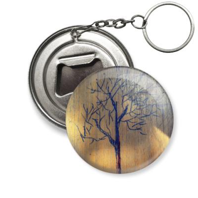 Брелок-открывашка Дерево
