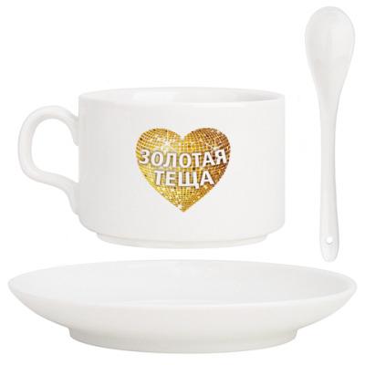 Кофейный набор 'Золотая теща'