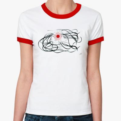 Женская футболка Ringer-T Мишень