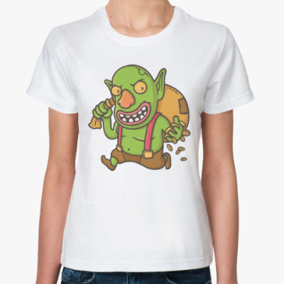 Классическая футболка Столкновение кланов