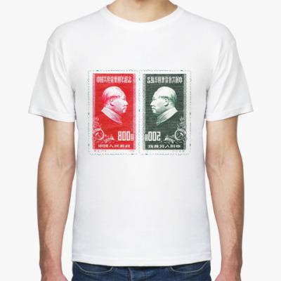 Футболка  Рожденные в СССР