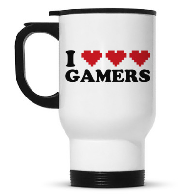 Кружка-термос I love gamers