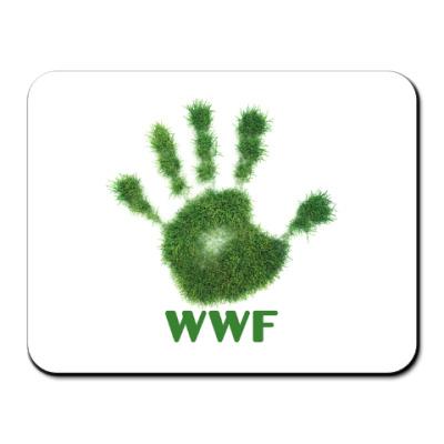 Коврик для мыши WWF. Дай пять!
