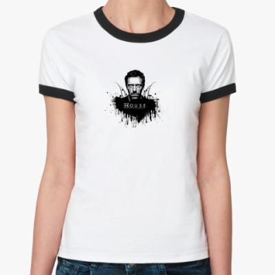 Женская футболка Ringer-T House m.d.