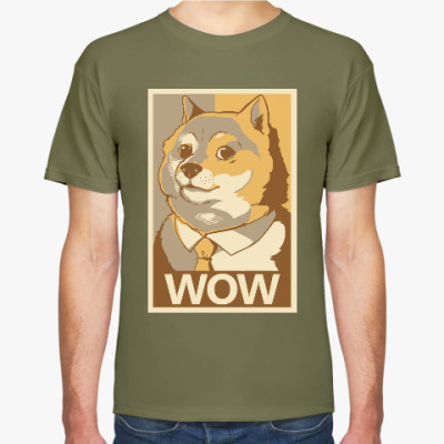 Футболка WOW - Doge