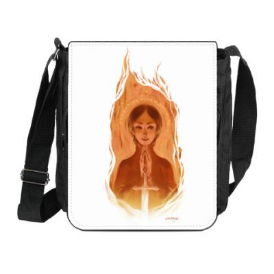 Сумка на плечо (мини-планшет) Жанна д'Арк