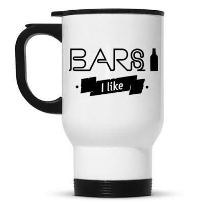 Кружка-термос 'Bars I like'