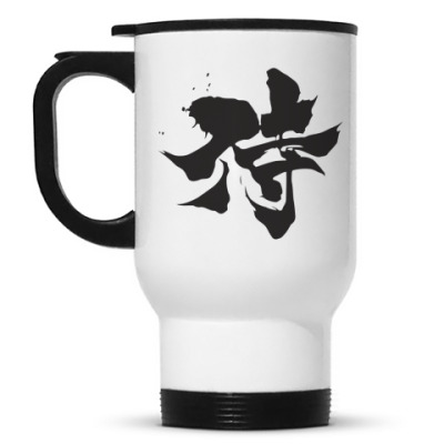Кружка-термос Samurai (kanji)