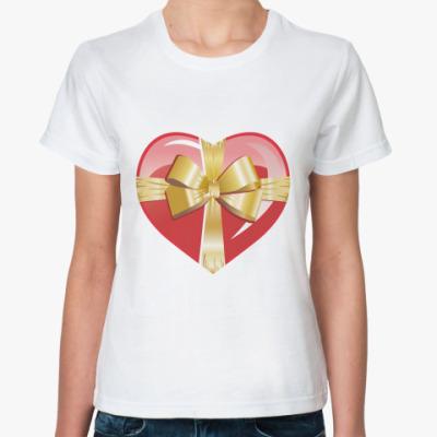 Классическая футболка Подарок