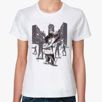Классическая футболка Зомби