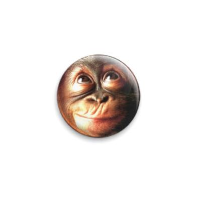 Значок 25мм  Monkey