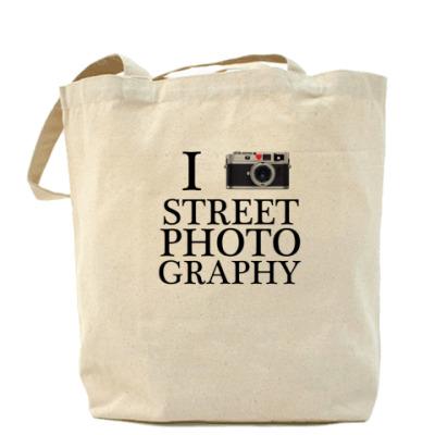 Сумка I love street photography