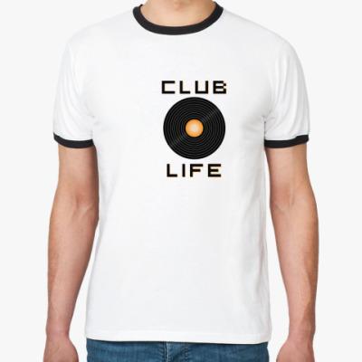 Футболка Ringer-T club life
