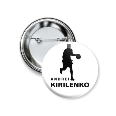 Значок 37мм Андрей Кириленко