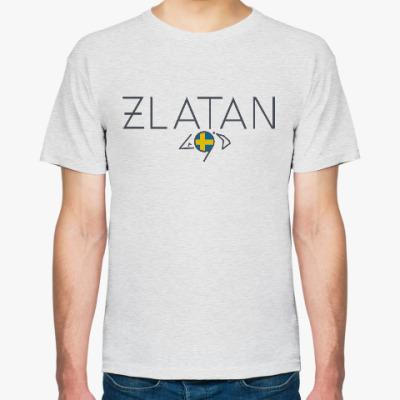 Футболка Zlatan. Златан.