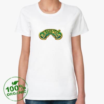 Женская футболка из органик-хлопка Battletoads