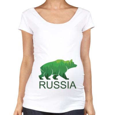 Футболка для беременных Россия, Russia