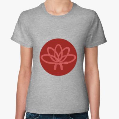 Женская футболка Animal Zen: W is for Worm
