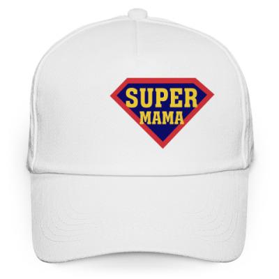 Кепка бейсболка Супер мама