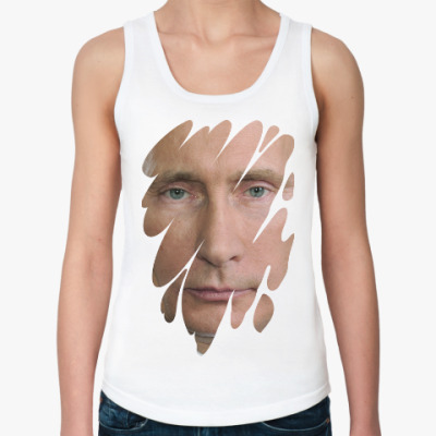 Женская майка Президент РФ
