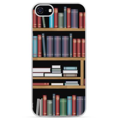 Чехол для iPhone Винтажные книги
