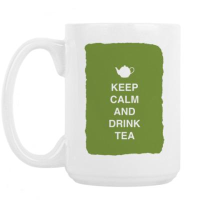 Кружка Keep calm and drink tea