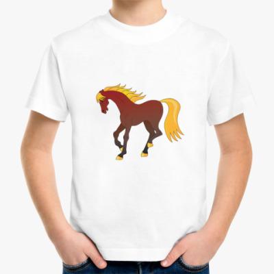 Детская футболка Лошадка