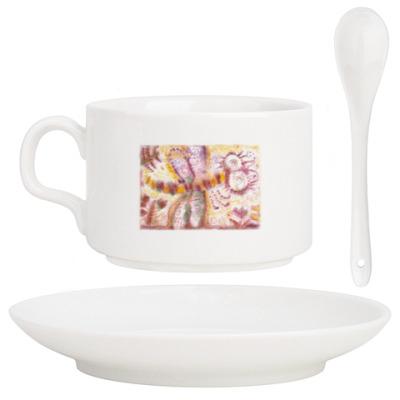 Кофейный набор Стрекоза из м/ф Винни-Пух
