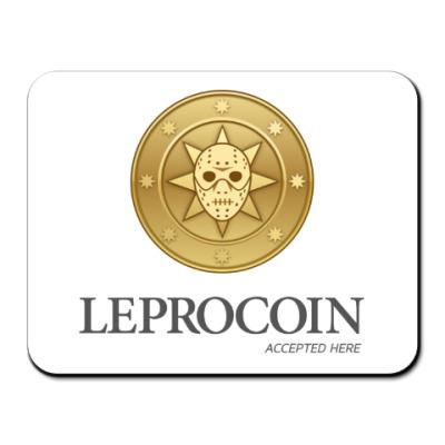 Коврик для мыши Leprocoin