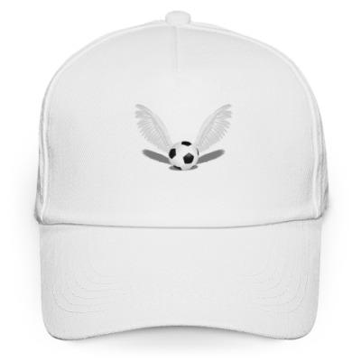 Кепка бейсболка Футбольный мяч с крыльями