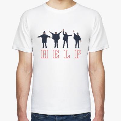 Футболка Beatles Help