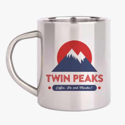 Кружка металлическая Твин Пикс Twin Peaks