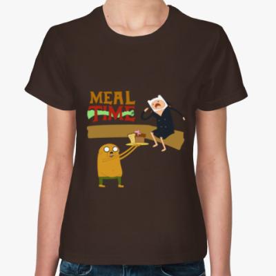 Женская футболка Финн братишка