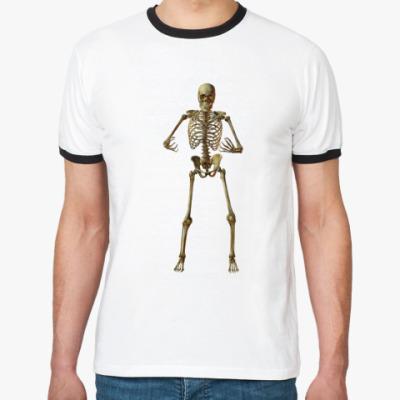 Футболка Ringer-T Скелет
