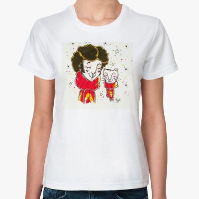 Классическая футболка Пушкин