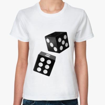 Классическая футболка Кубики