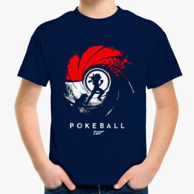 Детская футболка Pokeball 007