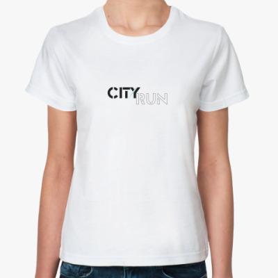 Классическая футболка City run