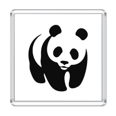 Магнит WWF. Панда