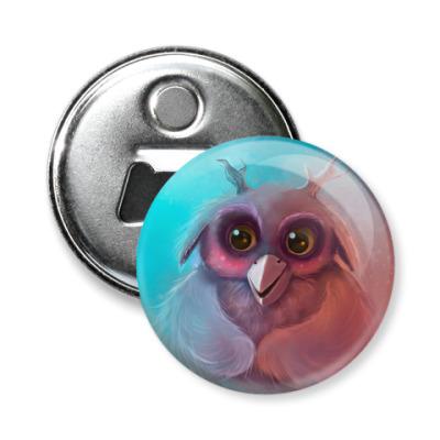 Магнит-открывашка Малыш Совух - Мункин из игры World of Warcraft